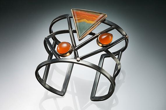 Cuff Bracelet by Sharrey Dore