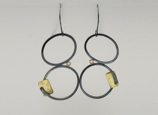 Earrings by Sharrey Dore