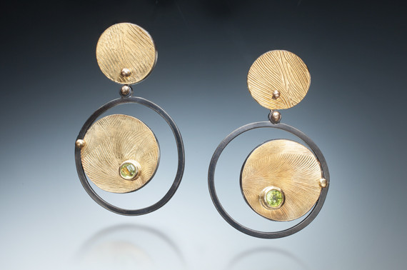 Earrings by Sharrey Dore